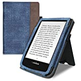 kwmobile Funda Compatible con Pocketbook Touch Lux 4/Lux 5/Touch HD 3/Color (2020) - con Agarre...