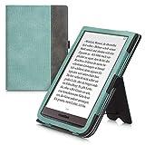 kwmobile Funda Compatible con Pocketbook InkPad 3/3 Pro - con Agarre elástico y Soporte de Apoyo -...